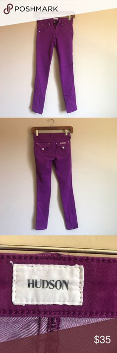 Girls Hudson Jeans Great condition ✨your girl will be looking stylish in these ✨KIDS CLOTHES DOESN'T ALWAYS RUN TRUE TO SIZE SO PLEASE VIEW THE FOLLOWING MEASUREMENTS❗️ measuring in inches: 12 waist, 7 rise, 34 length, 27 inseam, 4 leg opening Hudson Jeans Bottoms Jeans