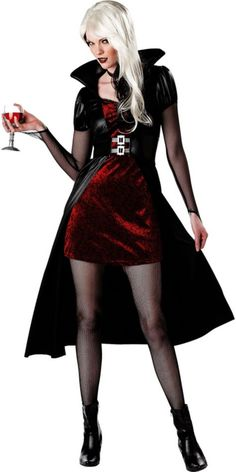 Adult Blood Thirsty Beauty Vampire Costume - Vampire Costumes - Womens Costumes - Halloween Costumes - Categories - Party City