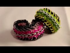 Swallow bracelet tutorial | loom & hook - YouTube