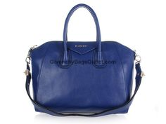 a6dda3099e 2012 new Givenchy Antigona Leather tote bag 9981 blue