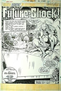 Splash page to Marvel Team-Up 45 by Sal Buscema and Mike Esposito.