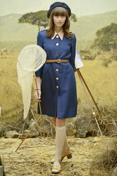 Orla Kiely Spring 2014: Girl Guides, British Colonials in Africa, and Moonrise Kingdom