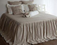 Linen Mesh Om Bedding Would Interpret Into Drop Cloth Diy