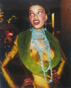 John Galliano for Christian Dior Fall 1997 Ready to Wear, Backstage - Brandi Quinones. Photo by Stephen Mahoney. 90s Fashion, Runway Fashion, High Fashion, Fashion 2020, Fashion Trends, John Galliano, Galliano Dior, Looks Vintage, Looks Cool