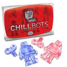 FRED Chillbots Robot-shaped Ice Cube Tray
