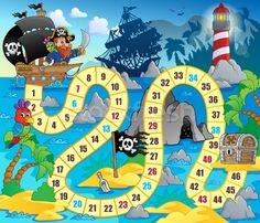 * Bordspel: Piraten!