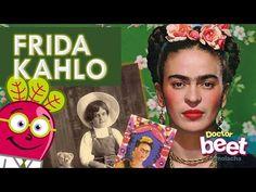Frida Kahlo Biografia para niños   Arte Mexico Educativo   Frida Kahlo Biography for Kids in Spanish - YouTube