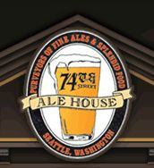 74th Street Ale House - Pub in Phinney Ridge area of Seattle. Great food, warm but loud atmosphere.