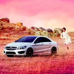 #TOTB -- Please, discover with me the brand new #MercedesBenz -- #CLA a fashionable car