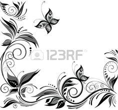 Fondo de la boda en blanco y negro Foto de archivo