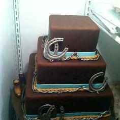 Cowgirl cake @Taylor DeCarlo
