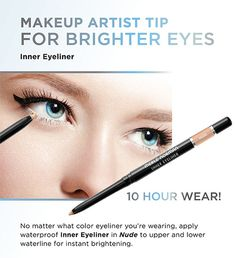 Brighten your eyes with our Inner Eyeliner!