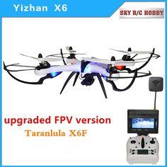 Original Yizhan Tarantula X6 FPV Gropo HD Camera 2.4G 4CH 6-Axis RC Quadcopter Drone Helicopter #Affiliate