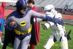 Ha.  #FantasyFootball #Batman #StarWars