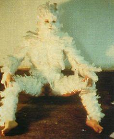 Feathered byAna Mendieta,1972