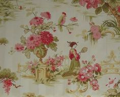 Toile Chinese Ladies from Nancy's Fabric Shop...so pretty