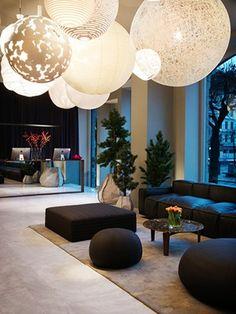 lobby of Nobis Hotel, Stockholm