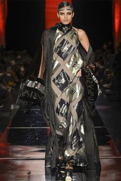 """Monsieur Couture - For his fall 2012 couture collection, designer Jean Paul Gaultier was inspired by the work of poet Alfred de Musset--""""Confession of a Ch"""