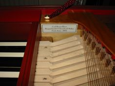 Clavichord after Hubert 1784 (Russell Collection) Bass keys