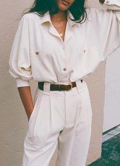 Rohseide Bobbie Tie Top / Erhältlich in Creme Sand & Schwarz  Creme / No.1  #Bla