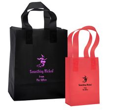 Flying Witch Frosted Bags  @The Stationery Studio