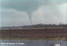 Tornado- Xenia,Ohio- April 3, 1974