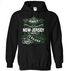 Living in NEW-JERSEY with Italian roots - #jean skirt #kids hoodies. ORDER NOW => https://www.sunfrog.com/LifeStyle/Living-in-NEW-JERSEY-with-Italian-roots-Black-82520009-Hoodie.html?id=60505