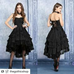Pretty #fashionfind today! Typical me frilly dress in black.