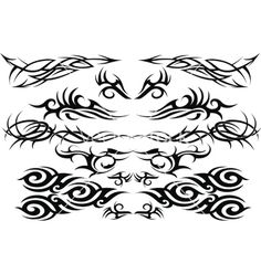 Free+Vector+|+Tattoo+vector+325085+-+by+sirvector on VectorStock®