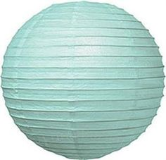 Ice Blue 8 Inch Premium Small Paper Lantern by Luna Bazaar. $2.95. This small blue paper lantern is made with the finest quality rice paper and bamboo or wire parallel ribbing. As with all our premium paper lanterns, they can be used with most ceiling fixtures and with most light cords for hanging lanterns. They can also be used with our LED battery lights as convenient, cord-free lighting and decoration for parties, weddings, patios, gardens, and outdoor celebrations. (P...