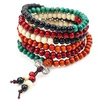 Description: 100% brand new and high quality material:	sandalwood	 size:6mm / 216 Prayer Bead It is