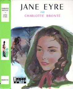Jane Eyre hardback cover - 1977. Cover art: Jacques Pecnard  https://studios.amazon.com/projects/151030
