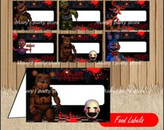 Five Nights at Freddy's Tags Five Nights at by Maryjpartystore