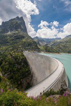 Lac d'Emosson Dam, Switzerland