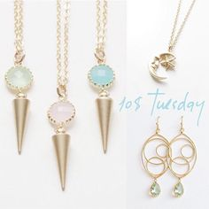 It's 10$ Tuesday!!! These selected items & more are only 10$ today only!! Direct link in bio @sweetheartjewelrybox . . . #ootdfashion #jewelryoftheday #ootdstyle #etsy #etsyfinds #jotd #jewelry #picoftheday #handmadejewelry #jewelrygram #igjewelry #ilovejewelry #layeringjewelry #customjewelry #sweetfashion #giftidea #summerlook #shopnow #musthaves #girlyfashion #bohojewelry #momstyle #momfashion #fashionmom #todayiamwearing #jewelryshop #summertrends #etsygifts #10dollartuesday #onsale