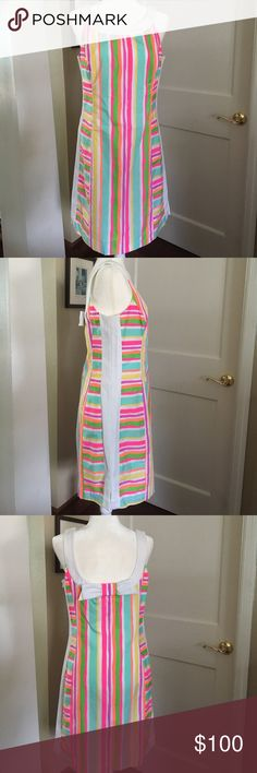 Lilly Pulitzer Stripped Shift Dress Lightly worn, no tags, no damages, great condition Lilly Pulitzer Dresses