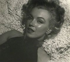 Marilyn Monroe photographed in 1951.