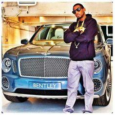 Rapper Fabulous and Bentley