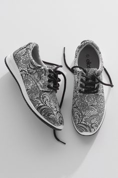 Ellos Shoes Jakardikuosiset lenkkarit
