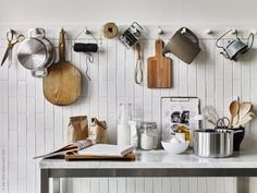 kitchen racks | styling inspiration