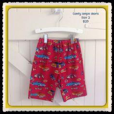 Boys Shorts - Size 2