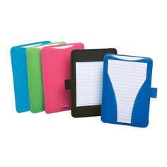 "Oxford® At-Hand Note Card Case, Assorted, 3 7/8""D x 6 1/8""H x 6 1/8""W, Pack Of 25 Cards Included"