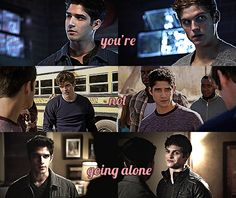 You're not going alone #Scisaac ♥