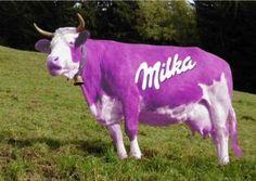 vache milka - El raton...gagwelles...et tout ce que j'aime