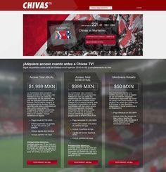 CHIVAS TV YA ESTÁ DISPONIBLE PARA LOS AFICIONADOS El próximo 23 de julio transmitirá su primer encuentro, mismo que será ante Rayados.