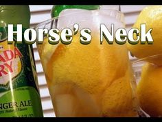 The Horse's Neck is a classic drink from back in the day. Traditionally made with brandy, ginger ale, and lemon; substitute Jameson for the brandy and you've got an authentic Irish cocktail.