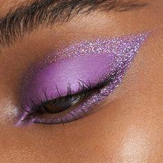 Purple Makeup Looks, Cute Makeup Looks, Makeup Eye Looks, Eye Makeup Art, Beautiful Eye Makeup, Colorful Eye Makeup, Makeup Inspo, Eyeshadow Makeup, Glitter Eyeshadow