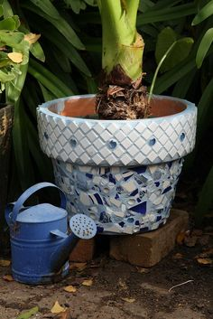 Mosaic Pot #2 by Barbiejay56, via Flickr