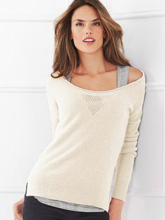 Angora Scoopneck Sweater