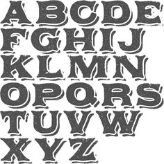 MyFonts: Rustic typefaces